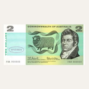 Front of Banknote 2